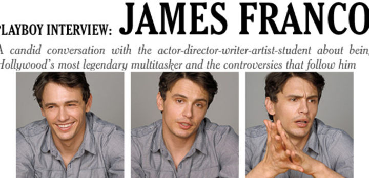 Playboy Interview: James Franco: