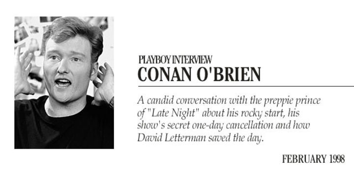 Playboy Interview: Conan O'Brien:
