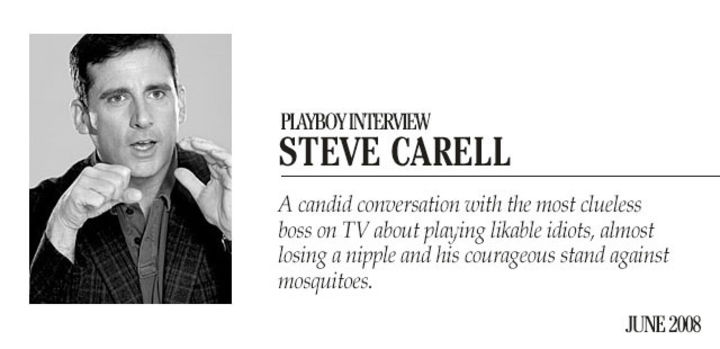 Playboy Interview: Steve Carell :