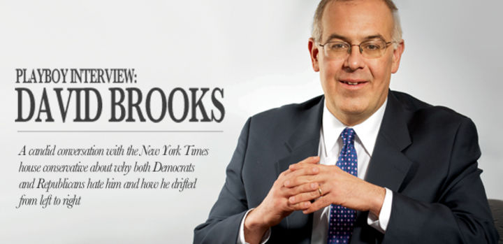 Playboy Interview: David Brooks: