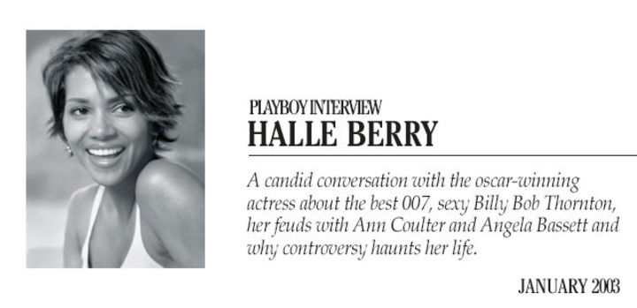 Playboy Interview: Halle Berry :