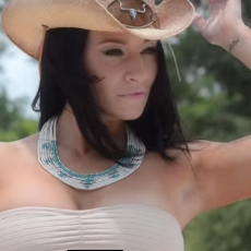 Playboy Mexico Miss July 2014 Morgan Maria Is A Little Bit Country: Video