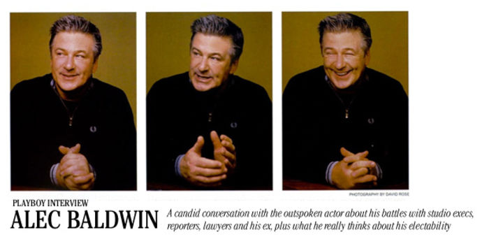 Playboy Interview: Alec Baldwin: