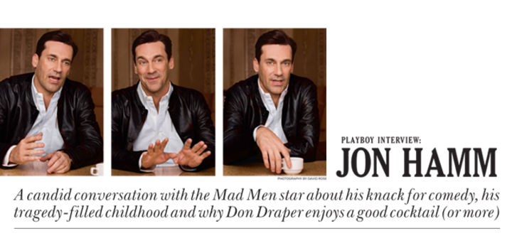 Playboy Interview: Jon Hamm: