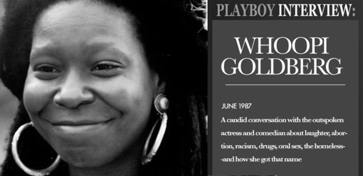 Playboy Interview: Whoopi Goldberg: