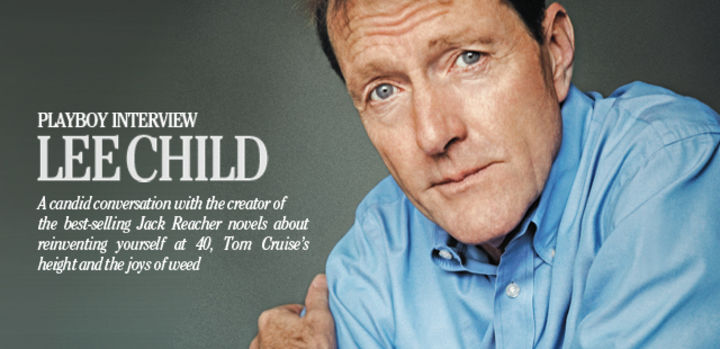 Playboy Interview: Lee Child: