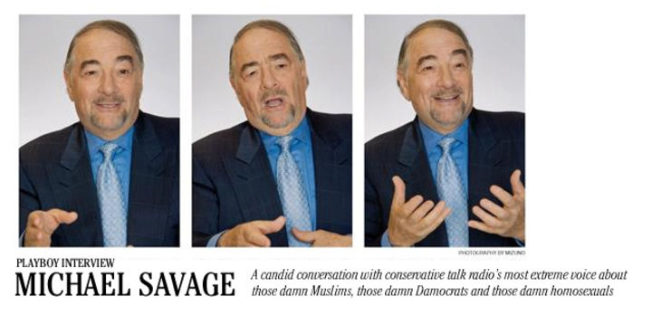 Playboy Interview: Michael Savage: