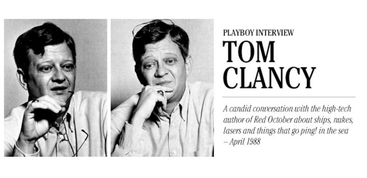 Playboy Interview: Tom Clancy: