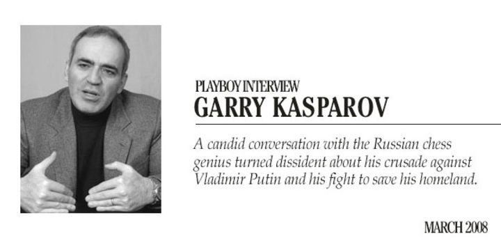 Playboy Interview: Garry Kasparov: