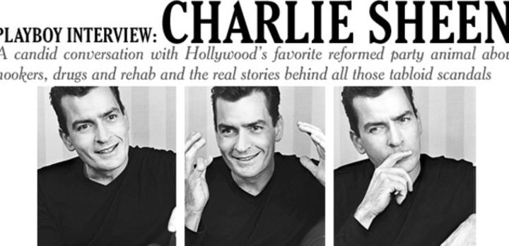 Playboy Interview: Charlie Sheen: