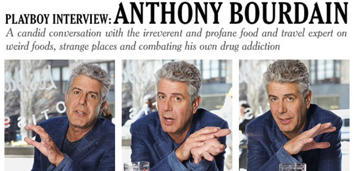 Playboy Interview: Anthony Bourdain: