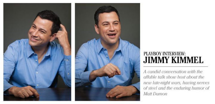 Playboy Interview: Jimmy Kimmel: