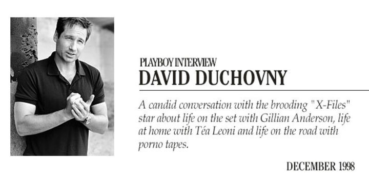Playboy Interview - David Duchovny: