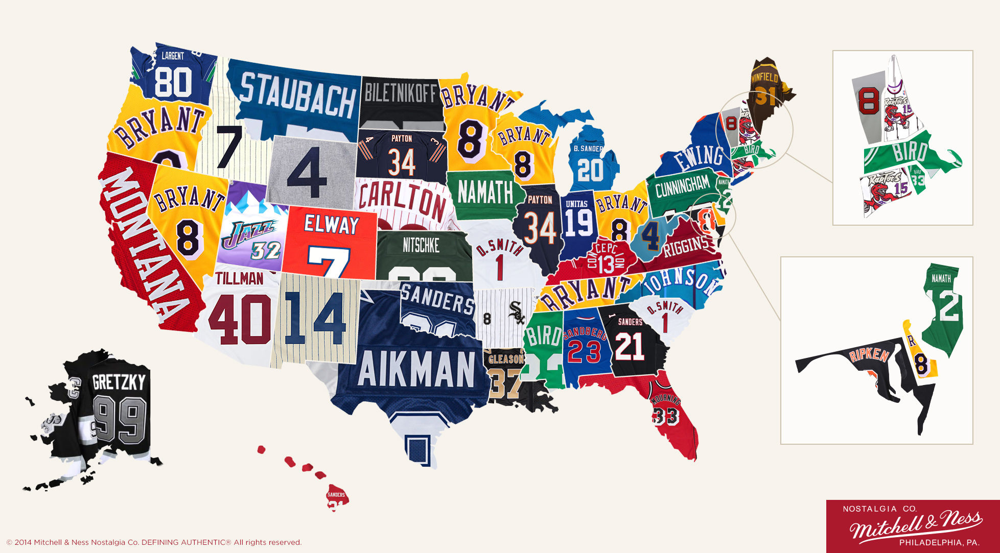 style best selling retro jerseys by state
