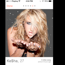 If Famous Celebrities Were on Tinder