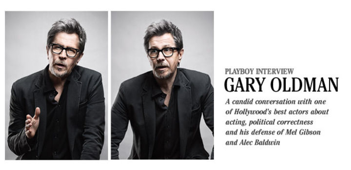 Playboy Interview: Gary Oldman: