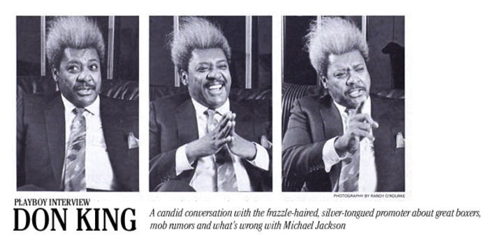 Playboy Interview: Don King: